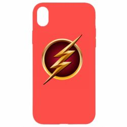 Чехол для iPhone XR Flash Logo Art - FatLine