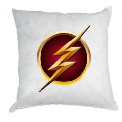 Подушка Flash Logo Art