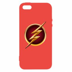 Чехол для iPhone5/5S/SE Flash Logo Art - FatLine