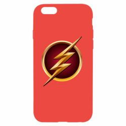 Чехол для iPhone 6/6S Flash Logo Art - FatLine
