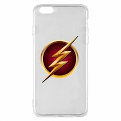 Чехол для iPhone 6 Plus/6S Plus Flash Logo Art - FatLine