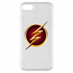 Чехол для iPhone 7 Flash Logo Art - FatLine