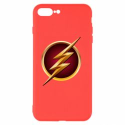 Чехол для iPhone 7 Plus Flash Logo Art - FatLine