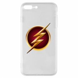 Чехол для iPhone 8 Plus Flash Logo Art - FatLine