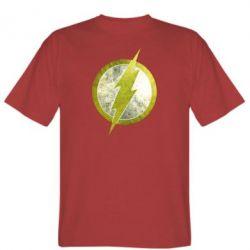 Мужская футболка Flash Logo - FatLine