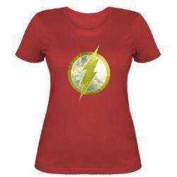 Женская футболка Flash Logo - FatLine