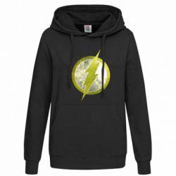 Женская толстовка Flash Logo - FatLine