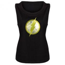 Женская майка Flash Logo - FatLine