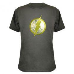 Камуфляжная футболка Flash Logo - FatLine