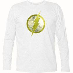 Футболка с длинным рукавом Flash Logo - FatLine