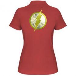 Женская футболка поло Flash Logo