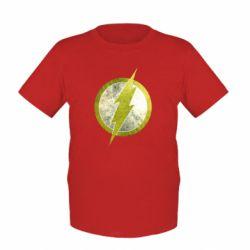 Детская футболка Flash Logo - FatLine