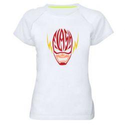 Женская спортивная футболка Flash Typography