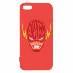 Чехол для iPhone5/5S/SE Flash Typography