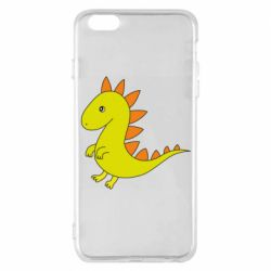 Чехол для iPhone 6 Plus/6S Plus Flat Dino