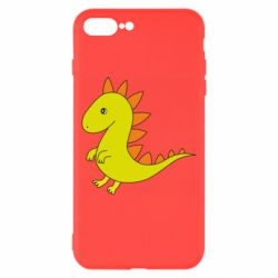 Чехол для iPhone 8 Plus Flat Dino