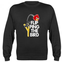 Реглан (свитшот) Flip Ping The Bird - FatLine
