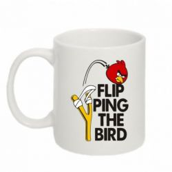 Кружка 320ml Flip Ping The Bird - FatLine