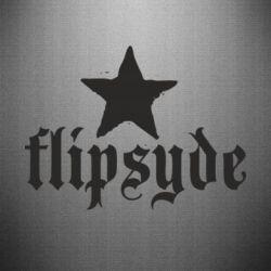 Наклейка Flipsyde