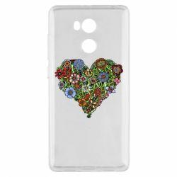 Чехол для Xiaomi Redmi 4 Pro/Prime Flower heart - FatLine