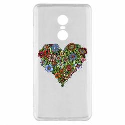 Чохол для Xiaomi Redmi Note 4x Flower heart