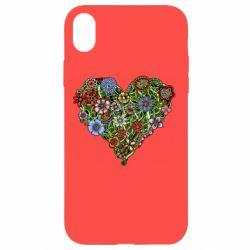 Чохол для iPhone XR Flower heart