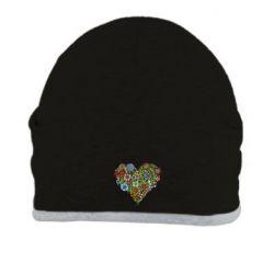 Шапка Flower heart