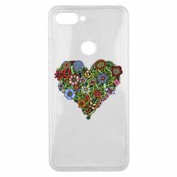 Чехол для Xiaomi Mi8 Lite Flower heart - FatLine