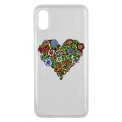 Чехол для Xiaomi Mi8 Pro Flower heart - FatLine