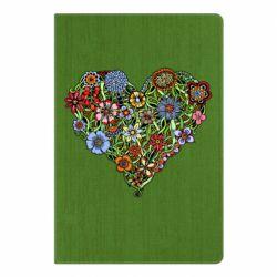 Блокнот А5 Flower heart - FatLine