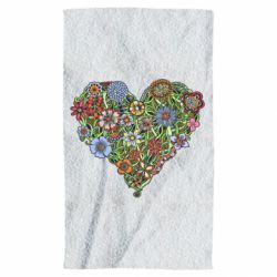 Полотенце Flower heart - FatLine