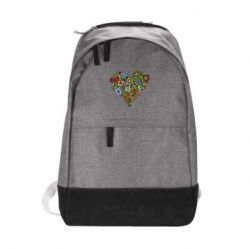 Городской рюкзак Flower heart - FatLine
