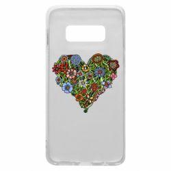 Чохол для Samsung S10e Flower heart