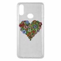 Чохол для Samsung A10s Flower heart