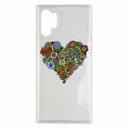 Чохол для Samsung Note 10 Plus Flower heart