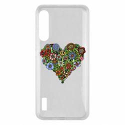 Чохол для Xiaomi Mi A3 Flower heart