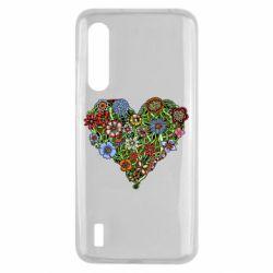 Чохол для Xiaomi Mi9 Lite Flower heart