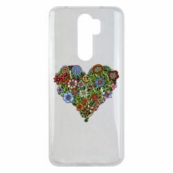 Чохол для Xiaomi Redmi Note 8 Pro Flower heart