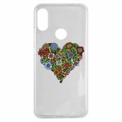 Чохол для Xiaomi Redmi Note 7 Flower heart