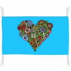 Прапор Flower heart