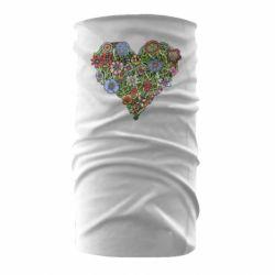 Бандана-труба Flower heart