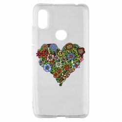 Чохол для Xiaomi Redmi S2 Flower heart