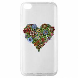Чохол для Xiaomi Redmi Go Flower heart