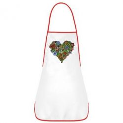 Фартух Flower heart