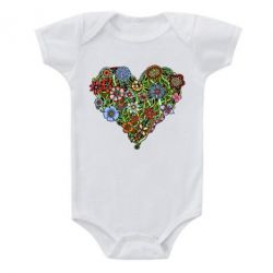 Дитячий бодік Flower heart