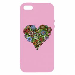Чохол для iphone 5/5S/SE Flower heart