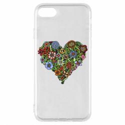 Чохол для iPhone 7 Flower heart