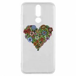 Чехол для Huawei Mate 10 Lite Flower heart - FatLine