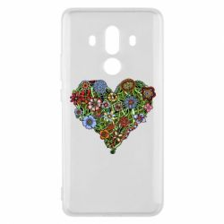Чехол для Huawei Mate 10 Pro Flower heart - FatLine