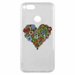 Чохол для Xiaomi Mi A1 Flower heart